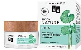 Perfumería y cosmética Crema facial regeneradora con extracto de centella asiática, hipoalergénica - AA Enjoy Nature Cica Moisturising Regenerating Cream