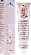 Perfumería y cosmética Crema aclarante para cabello pre aclarado y tonos base naturales en el nivel 6 o más ligero - Schwarzkopf Professional BlondMe Blonde Lifting
