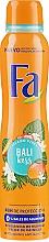 Desodorante antitranspirante con aroma a mango y vainilla - Fa Bali Kiss Deodorant — imagen N3