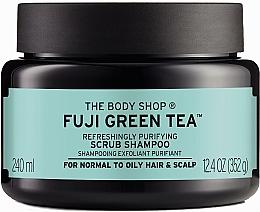 Perfumería y cosmética Champú exfoliante con extracto de té verde - The Body Shop Fuji Green Tea Cleansing Hair Scrub