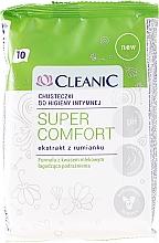Perfumería y cosmética Toallitas de higiene íntima con extracto de caléndula - Cleanic Super Comfort Wipes