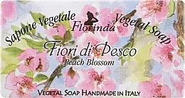 Perfumería y cosmética Jabón vegetal con flor de durazno - Florinda Sapone Vegetal Soap Peach Blossom