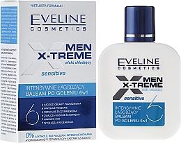 Perfumería y cosmética Bálsamo aftershave con extracto de aloe - Eveline Cosmetics Men Extreme Sensitive