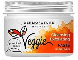 Perfumería y cosmética Pasta de limpieza facial exfoliante a base de arcilla con extracto de calabaza y chili - DermoFuture Nature Veggie Pasta