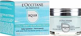 Crema facial hidratante con agua provenzal y ácido hialurónico - L'Occitane Aqua Reotier Acial Ultra Hidratante — imagen N1