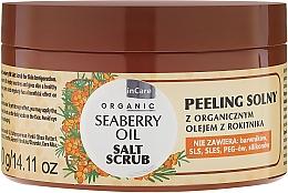 Perfumería y cosmética Exfoliante corporal a base de sal y aceite de mora - GlySkinCare Organic Seaberry Oil Salt Scrub
