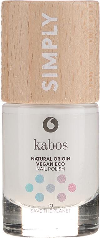 Esmalte de uñas origen natural - Kabos Classic Nail Polish