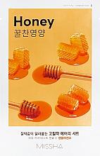 Perfumería y cosmética Mascarilla facial de algodón con extracto de miel - Missha Airy Fit Sheet Mask Honey