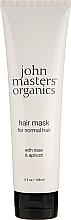 Perfumería y cosmética Mascarilla capilar con agua de rosas y aceite de albaricoque - John Masters Organics Hair Mask For Normal Hair with Rose & Apricot