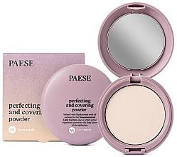 Perfumería y cosmética Polvo facial compacto matificante - Paese Perfecting & Covering Nanorevit Powder