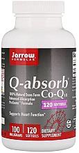 Perfumería y cosmética Complemento alimenticio en cápsulas de coenzima Q10, 100mg, 120 cáp. - Jarrow Formulas Q-Absorb 100 mg
