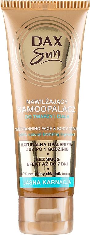 Autobronceador para rostro y cuerpo - DAX Sun Extra Bronze Self-Tanning Cream