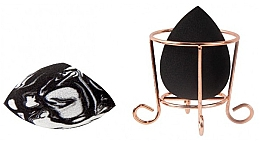 Perfumería y cosmética Esponjas de maquillaje con colocador - Donegal