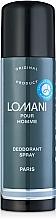 Perfumería y cosmética Parfums Parour Lomani - Desodorante