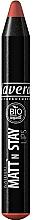 Perfumería y cosmética Lápiz labial mate bio orgánico - Lavera Natural Matt'n Stay Lips
