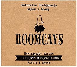 Perfumería y cosmética Bálsamo hidratante para barba y bigote con manteca de karité y aceite de argán - Roomcays