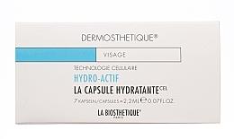 Perfumería y cosmética Cápsulas faciales hidratantes con ácido hialurónico, 7uds. - La Biosthetique Dermosthetique Hydro-Actif La Capsule Hydratante