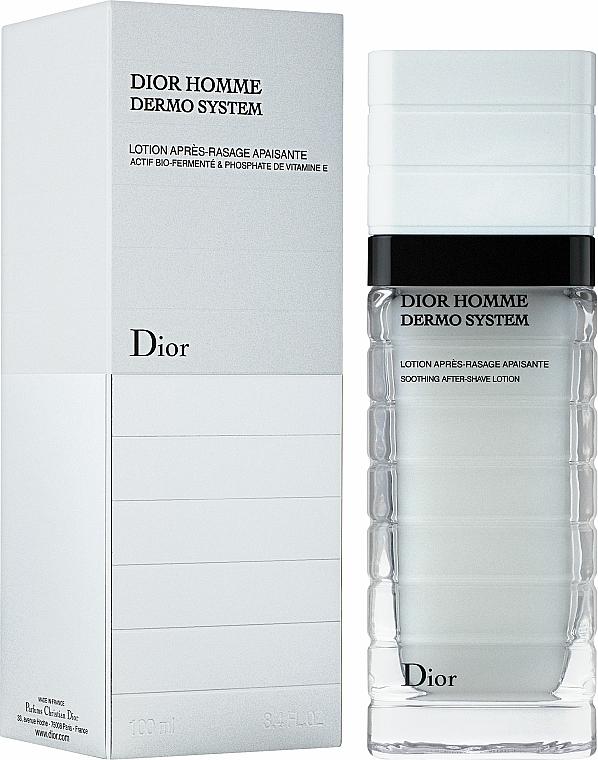 Loción aftershave calmante con vitamina E - Dior Homme Dermo System Repairing After-Shave Lotion 100ml — imagen N1