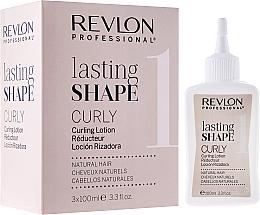 Perfumería y cosmética Loción rizadora para cabello natural con sales de ácido tioglicólico - Revlon Professional Lasting Shape Curly Lotion Natural Hair (3uds.x100ml)