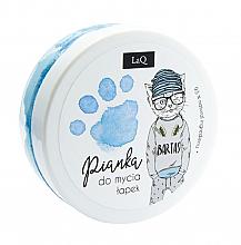 Perfumería y cosmética Espuma limpiadora para manos, cabello y cuerpo, azul - LaQ Cleansing Foam
