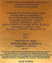 Paco Rabanne 1 Million - Loción aftershave — imagen N3