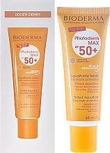 Perfumería y cosmética Protector solar con color resisnte al agua - Bioderma Photoderm Max Spf 50+ Ultra-Fluide Teinte