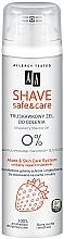 Perfumería y cosmética Gel de afeitado con extracto de fresa - AA Shave Safe & Care Strawberry Shaving Gel