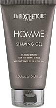 Perfumería y cosmética Gel de afeitar con extracto de musgo de Irlanda - La Biosthetique Homme Shaving Gel