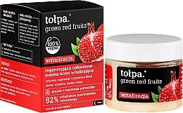 Perfumería y cosmética Crema mascarilla facial con extracto de granada y manteca de karité - Tolpa