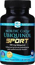Perfumería y cosmética Complemento alimenticio de ubiquinol Q10 en cápsulas de geletina, 100mg - Nordic Naturals CoQ10 Ubiquinol Sport