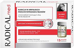 Perfumería y cosmética Tratamiento anticaída de cabello en ampollas con provitamina B5 - Radical Med Anti Hair Loss Ampoule Treatment For Woman