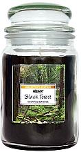 Perfumería y cosmética Vela perfumada en tarro, Bosque Negro - Airpure Jar Scented Candle Black Forest