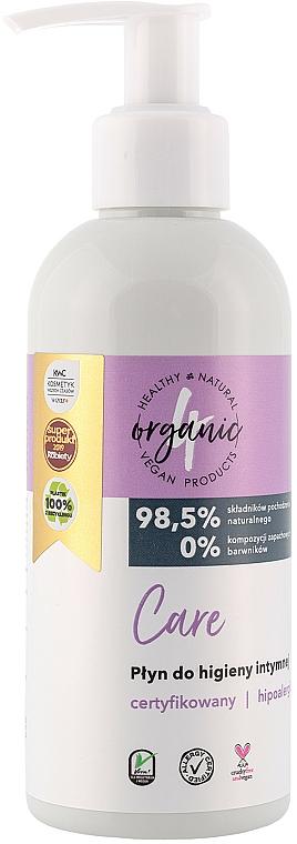 Gel de higiene íntima con ingredientes naturales, con dosificador - 4Organic Care Intimate Gel