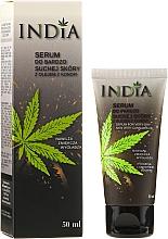 Perfumería y cosmética Sérum para rostro y manos con aceite de cáñamo - India Serum For Very Dry Skin With Cannabis Oil