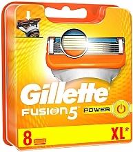 Perfumería y cosmética Recambios de cuchillas, 8uds. - Gillette Fusion Power