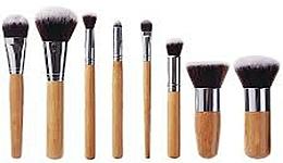 Perfumería y cosmética Set brochas y pinceles de maquillaje, 10uds. - Fascination Bamboo Complexion & Eyes