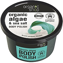 Perfumería y cosmética Exfoliante corporal con algas y sal marina - Organic Shop Body Scrub Organic Algae & Sea Salt