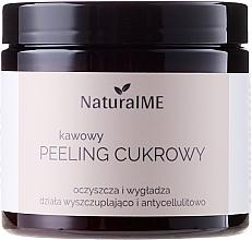 Perfumería y cosmética Exfoliante corporal de azúcar con manteca de karité y polvo de semillas de café - NaturalME