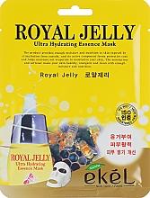 Perfumería y cosmética Mascarilla facial hidratante de tejido extracto de té verde - Ekel Royal Jelly Hydrating Essence Mask