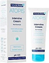 Perfumería y cosmética Crema para rostro y cuerpo con aceite de semilla de cáñamo y extracto de regaliz - Novaclear Atopis Intensive Cream
