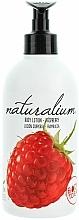 Perfumería y cosmética Loción corporal hidratante con aroma a frambuesa - Naturalium Body Lotion Raspberry