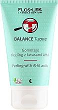 Perfumería y cosmética Peeling facial con ácidos AHA - Floslek Balance T-Zone Gommage Peeling With AHA Acids