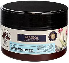 Perfumería y cosmética Mascarilla natural fortalecedora de cabello con aceite de argán y extracto de ginseng - Mrs. Potter's Triple Root Strenghten