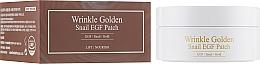 Perfumería y cosmética Parches de hidrogel para contorno de ojos con baba de caracol y extracto de oro - The Skin House Wrinkle Golden Snail EGF Patch