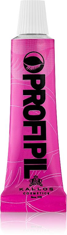Tinte para pestañas y cejas (sin oxidante incluido) - Kallos Cosmetics Profi Pill Eyelash And Eyebrow Tin
