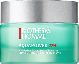 Perfumería y cosmética Gel crema facial hidratante con extracto de plancton termal puro - Biotherm Homme Aquapower 72h Gel Cream