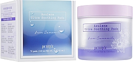 Perfumería y cosmética Parches hidratantes para contorno de ojos con extracto de romero - Petitfee&Koelf Azulene Ultra Soothing Pads