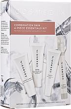 Perfumería y cosmética Set facial (crema/15ml+ sérum/15ml+ tratamiento/15ml+ bruma/15ml) - Cosmedix Combination Skin 4-Piece Essentials Kit