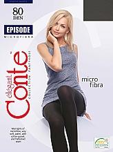 Perfumería y cosmética Pantis Episode, 80 Den, nero - Conte