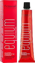 Perfumería y cosmética Crema colorante con proteína hidrolizada de trigo y fosfolípidos - Kosswell Professional Equium Color